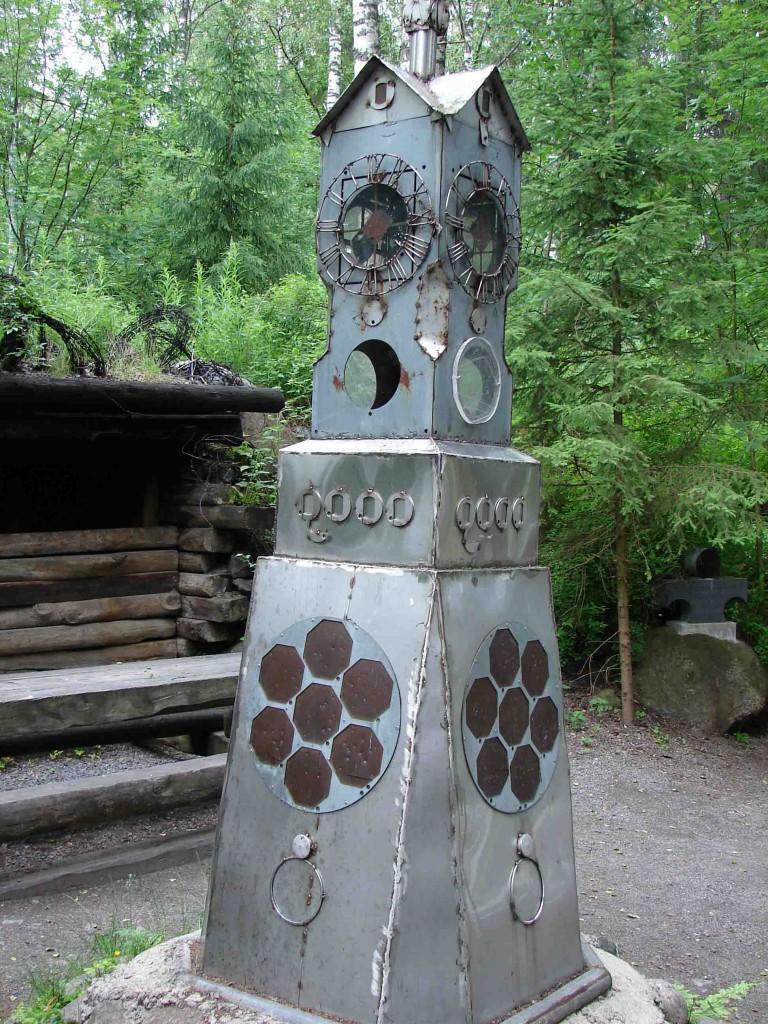 Памятные часы в честь 2000 года